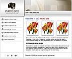 Thumbnail screenshot of free website template